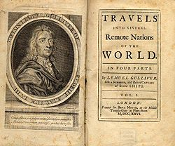 book cover gulliver's travels