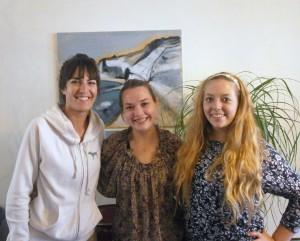 Angélique, Beth et Sara, 3 drôles de dames!